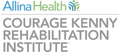 Logo for Courage Kenny Rehabilitation Institute, part of Allina Health