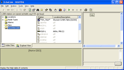 Echolink screenshot