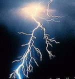 a great photo of a lightning bolt